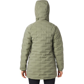 Mountain Hardwear Super/DS Stretchdown Parka Naiset, light army